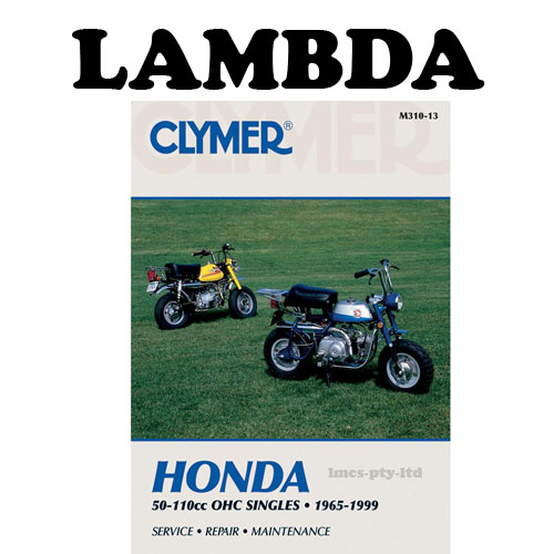 clymer manual front ct110
