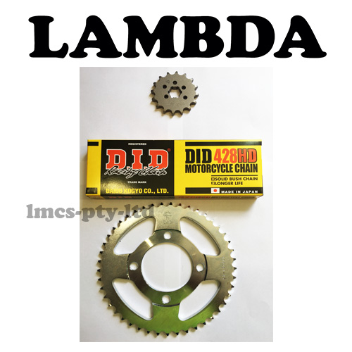 did ct110x chain and sprocket set