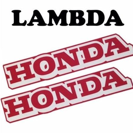 honda stickers