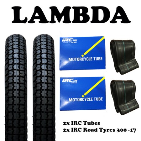 IRC tyres and tubes ct110