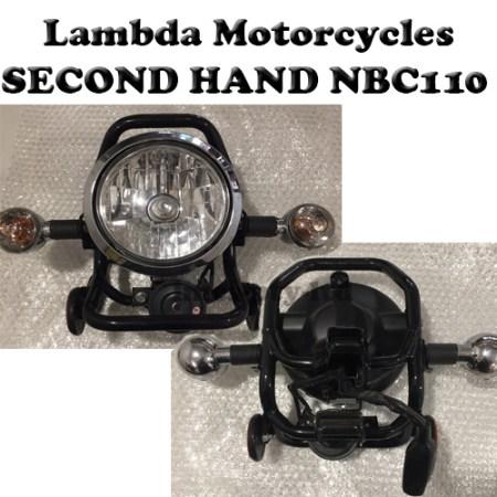 nbc110 second hand headlight and indicators