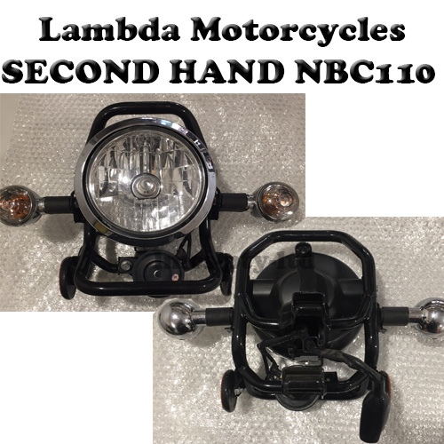 nbc110 second hand headlight and indicators