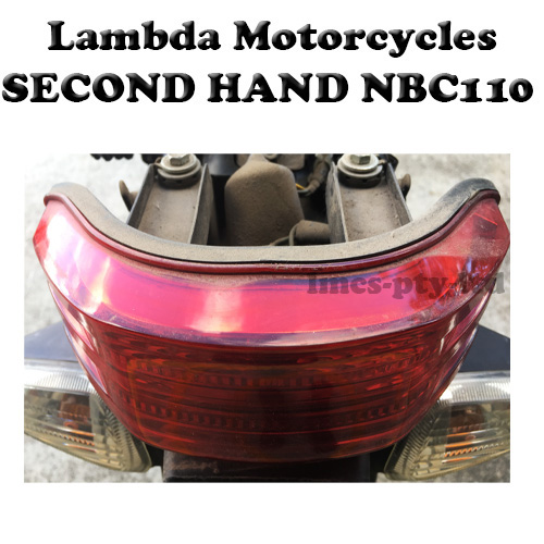nbc110 second hand tail light
