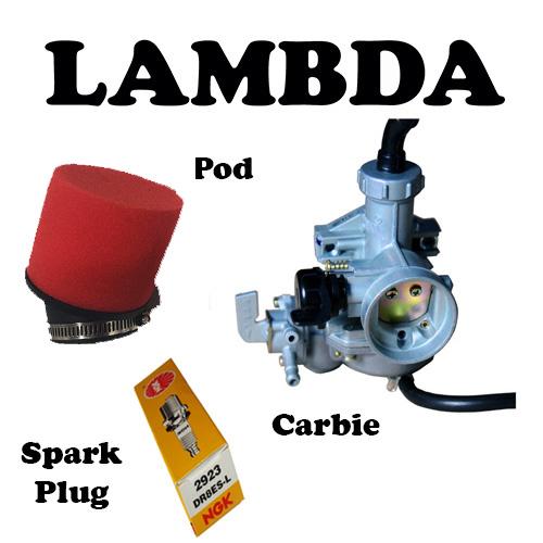 pod carbie spark plug ct110