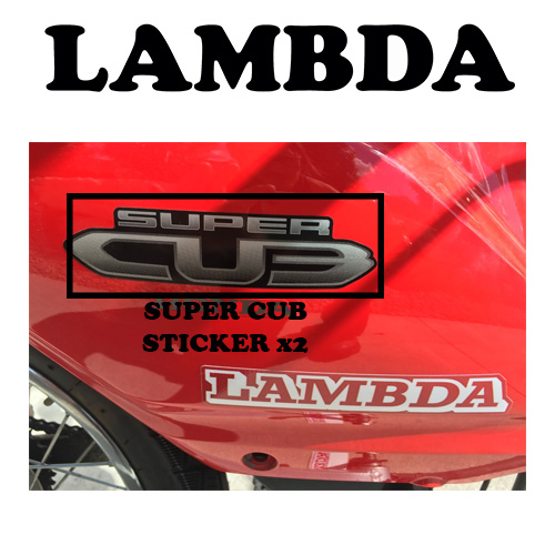 HONDA NBC110 super cub sticker