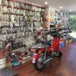 LAMBDA MOTORCYCLES SHOP FLOOR