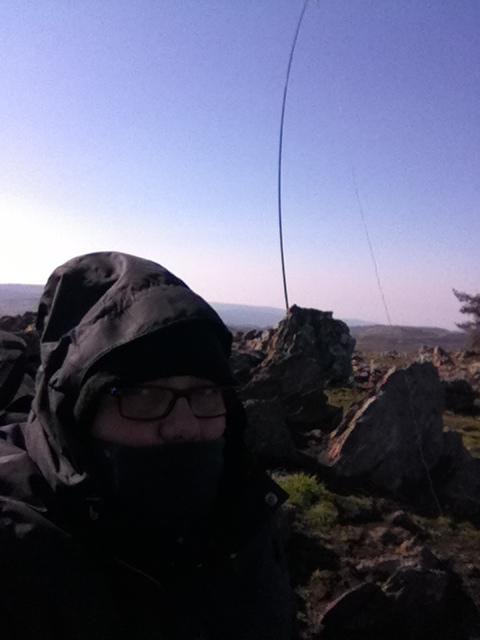 CT1DBS and the fishing rod: Zero QSOs!