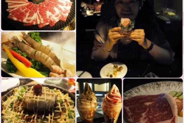 台中市西區|塩選.燒肉店居然出現一整塊氣勢非凡的沙朗牛排 !