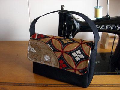 使わない帯を活用しよう!帯リメイクでハンドバッグ製作