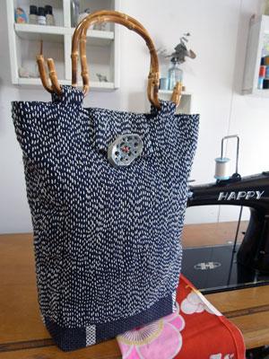 着物リメイクのお店カナタツ商店の古布を使った少し変わった商品