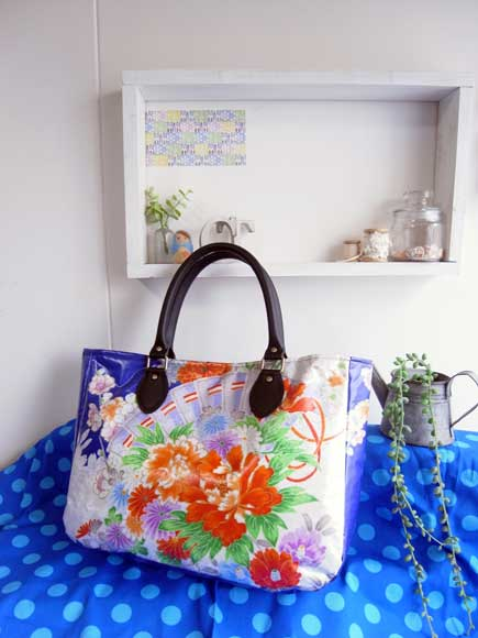 着物リメイクブログ@着物と帯のハンドバッグ…ちょっとひねったデザイン3案