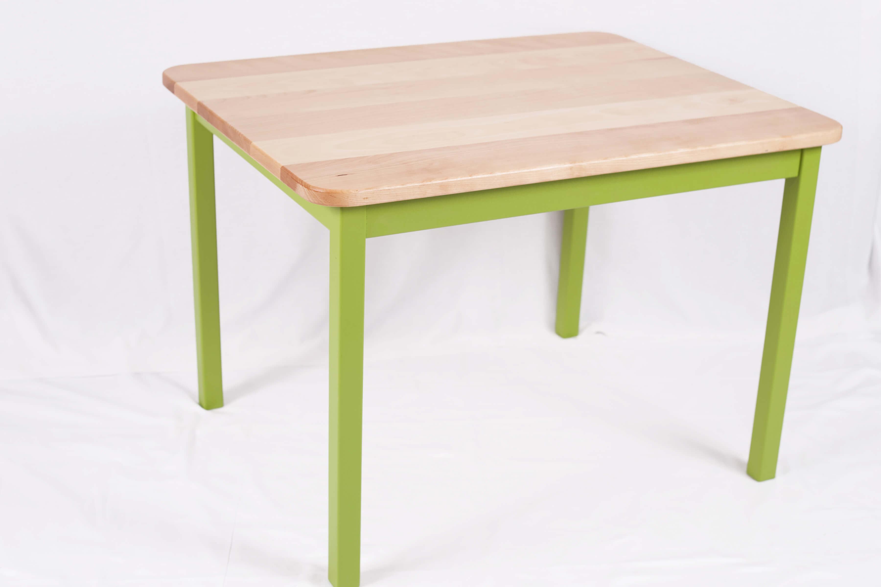 table pour enfant en bois