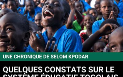 Quelques constats sur le système éducatif togolais