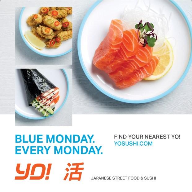 Advert for Yo! Sushi