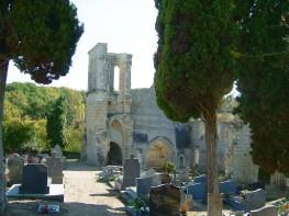 Ruines de l'Église St Maxenceul