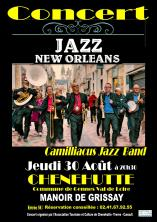 Concert Camilliacus Jazz Band Chenehutte