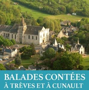 Balade contée à Cunault @ Place de la Prieurale à Cunault | Chênehutte-Trèves-Cunault | Pays de la Loire | France