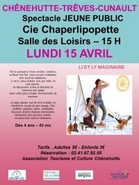 Spectacle Jeune Public Li et Ly Maginaire 2019