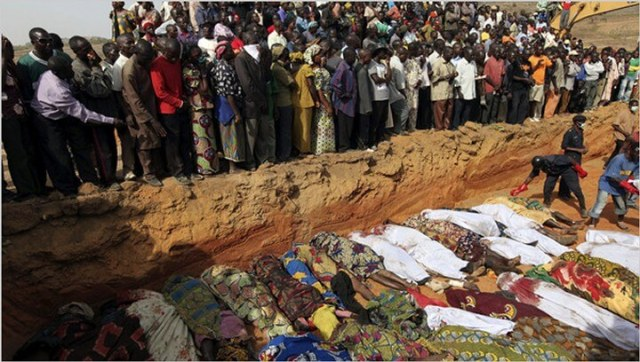 Image result for 48 Christians Massacred in Nigeria 2017
