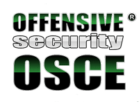 Offensive Security OSCE Certification