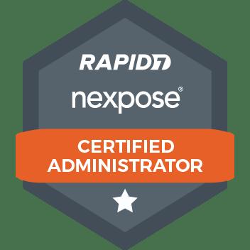 nexpose certified administrator