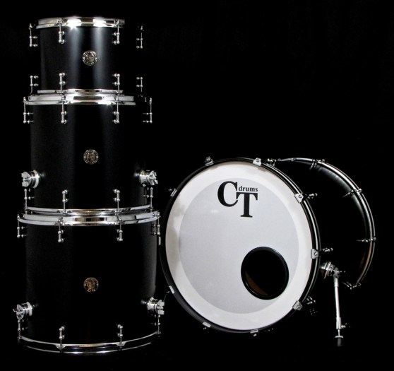 4pc Satin Black Specialty Players Series