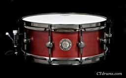 "5.5x14"" Blood Red Satin Oil"