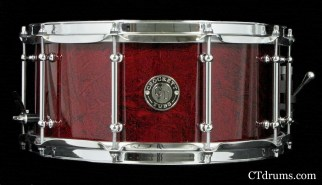 "6.5x14"" Candy Apple Red Marbelizer Custom Paint"
