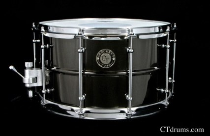 "8x14"" Black Nickel Over Brass"