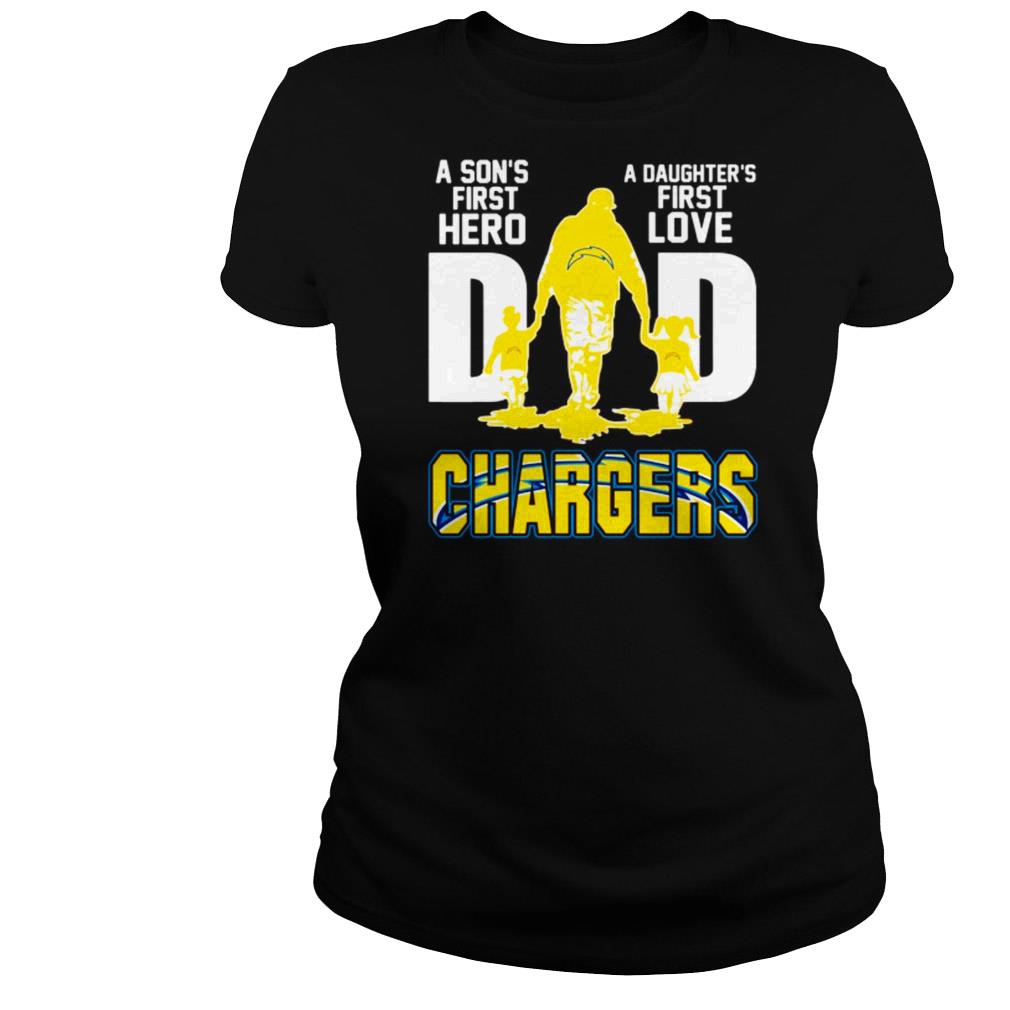 Download Los Angeles Chargers Dad a son's first hero and a daughter ...