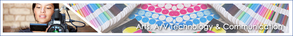 Arts, Audio Visual and Communication career cluster