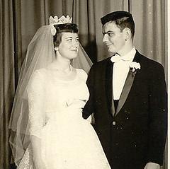 Carol & Charles Conrad wedding