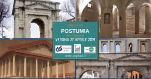 Lungo la via Postumia a Verona – seconda visita guidata – sabato 27 aprile 2019