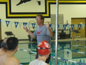St Joe's Swim Clinic with Coach Jeff Stuart