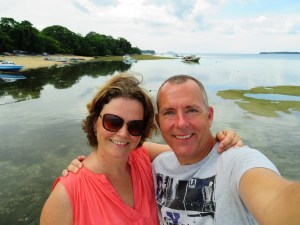 Selfie van Eric en Claudia