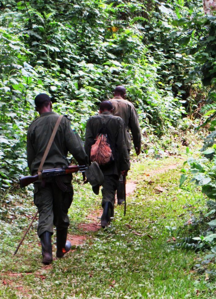 rangers bij trekking