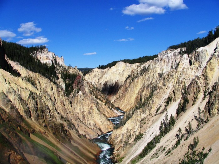 kloof in Yellowstone