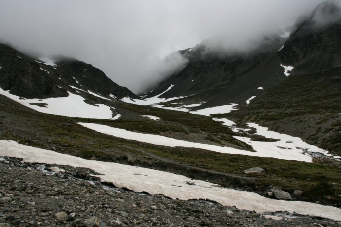 gletsjer bij Ushuaia