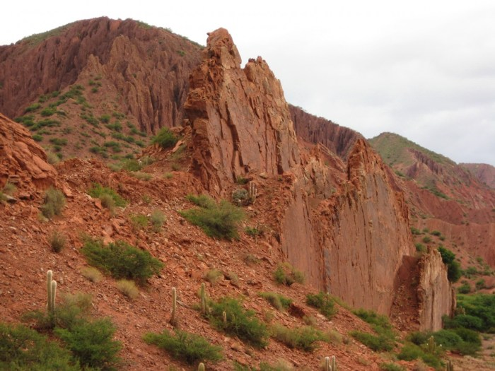 rotsachtige omgeving rond Tupiza