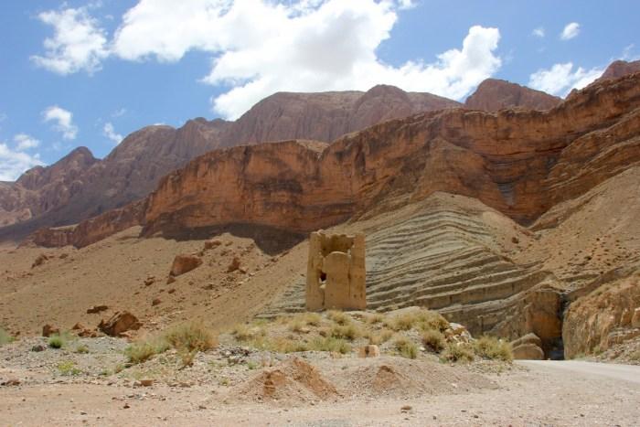 Berglandschap van Marokko
