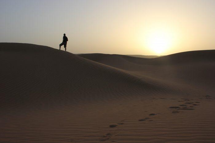 Sahara zonsopkomst