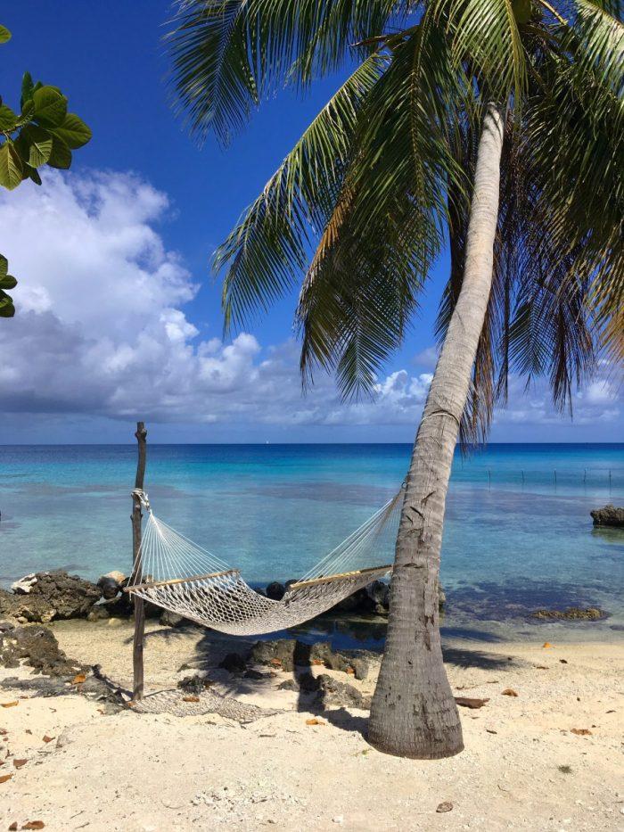 Hangmat aan het strand, Le Coconut Lodge