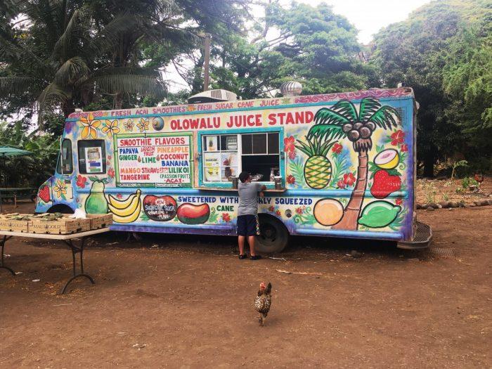 Olowalu juice stand