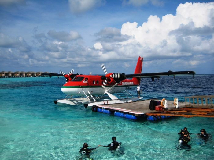 watervliegtuig maladiven