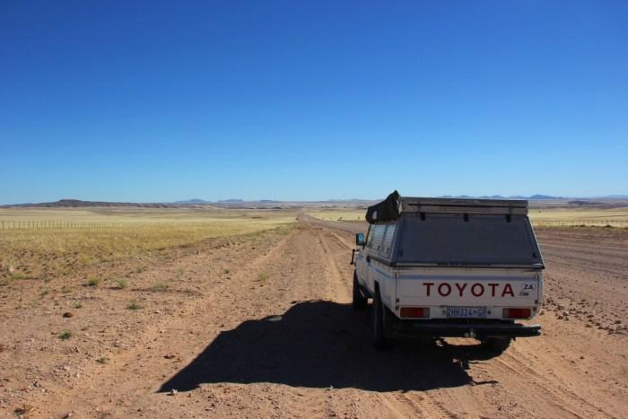 zelfstandig reizen Namibië