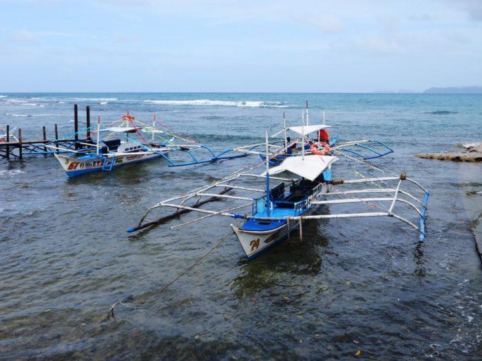 Vissersbootjes Sabang