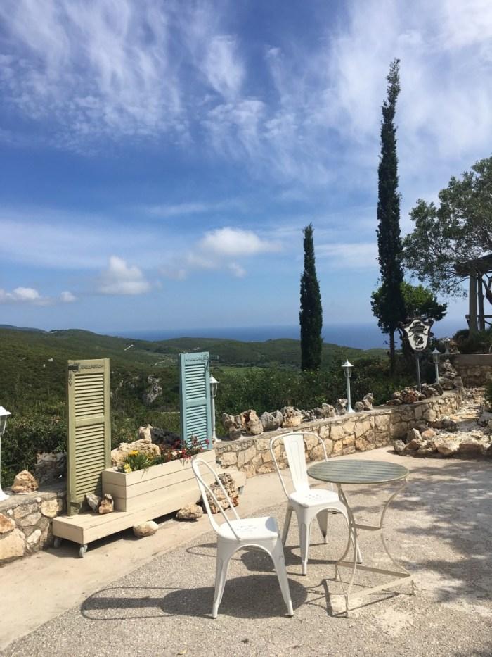 uitzicht bij Taverna Cave Damianos