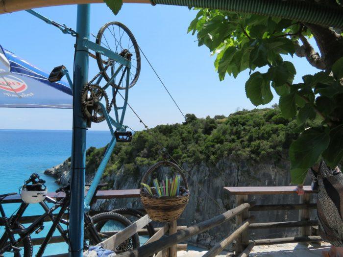 kabelbaan op Xigia Beach