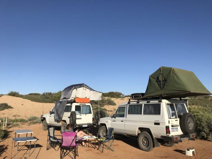 Kamperen bij 1 K Camp