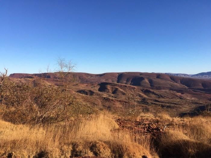 Uitzicht vanaf Mount Nameless